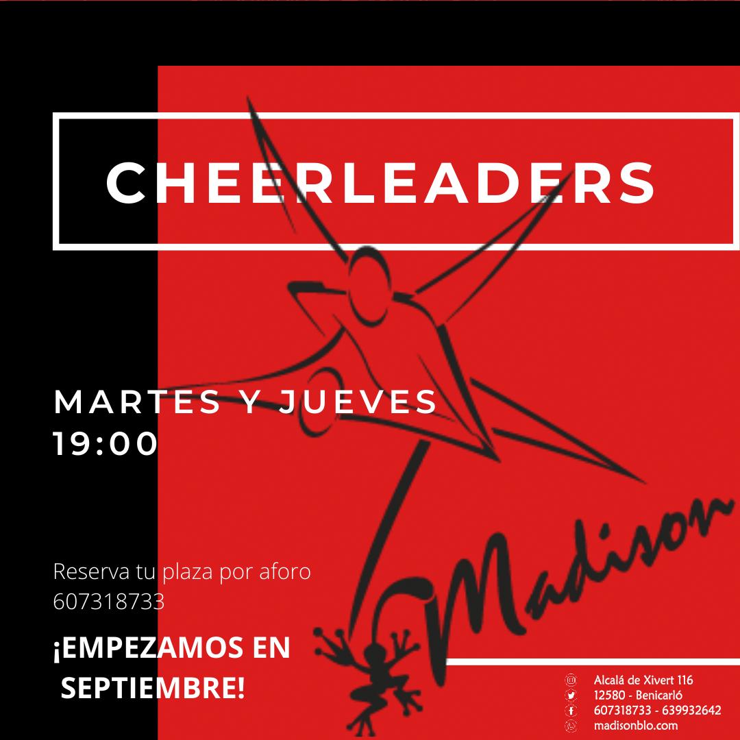 cheerleaders baile niños benicarló